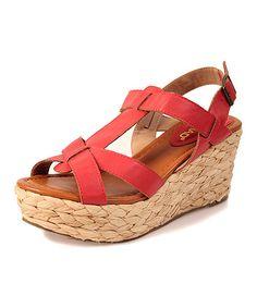 Red Sea Breeze Platform Sandal