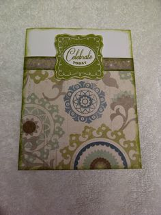 Made with CTMH Avonlea papers and family love stamp & casual expressions stamp