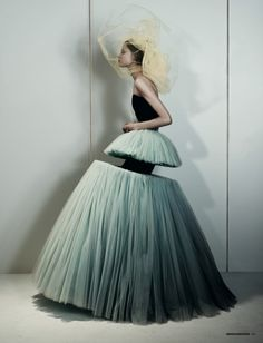 """Magdalena Frackowiak  in """"The Amsterdam Chainsaw Masacre"""" photographed by Josh Olins and styled by Katie Shillingford"""