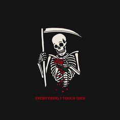 Ideas Tattoo Quotes About Death Beautiful The Skulls, Watercolor Tatto, Geometric Tatto, Tattoo Quotes About Life, Dark Drawings, Death Quotes, Hurt Quotes, Skeleton Art, Dark Thoughts