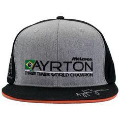 Ayrton Senna McLaren World Champion 1988 Cap
