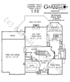 53 Best House Plans: floor plans images in 2019 | House ...  Hampton House Plans on