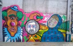 THEIC and Fitz paint new mural in San Telmo | BA Street Art