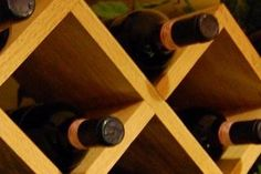 How To Build A Lattice Wine Rack