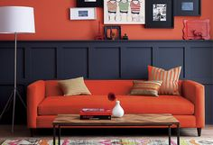 Red has become a popular trend in home decor