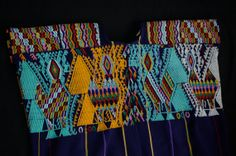 Authentic Mayan HUIPIL (Blouse) from Chajul 2B, Guatemalan Backstrap Weave (Fair Trade)