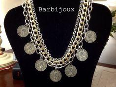 Catene e monete di Barbijoux