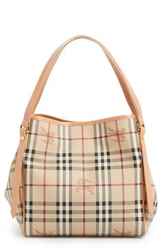 Burberry 'Haymarket Check - Small Canterbury' Tote-----omg, I so want one!
