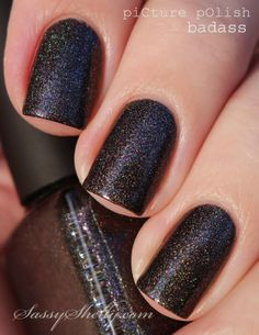 Sassy Shelly: Nails and Attitude: Introducing piCture pOlish BADASS ~ MY Collaboration Shade!!