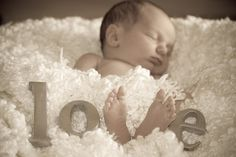 Art Newborn pics baby-now-a-days