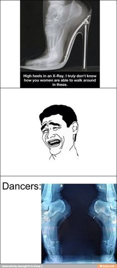 Okay I just love the Dancers one. Cuz its so true