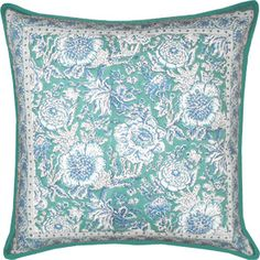 Hand block printed cotton cushion covers