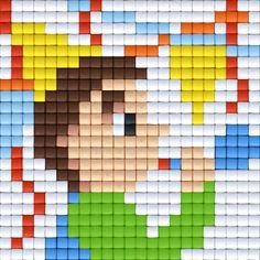 Pixelhobby © All rights reserved #party #specialday #birthday #verjaardag #pixels #pixelart #pixelen #pixelhobby #verjaardagskaart #feest #vieren