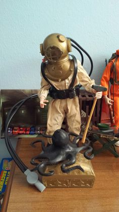 Deep sea diver...GI Joe was the best action toy ever! Imagination and articulation. Yo Joe!!