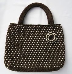Stitch of Love: Crohet Polka Dot Bag