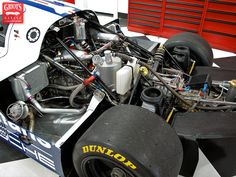 1984 Porsche 962C Werks Race Car. 780hp is more than adequate to push this beast to a top speed of 211mph.
