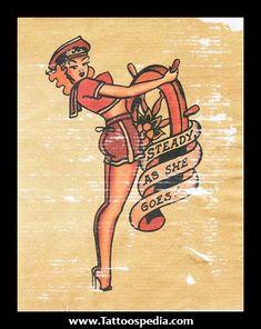 Sailor Jerry Pin Up Tattoos Pics