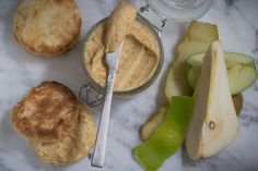 Caramel Apple and Pear Butter With Homemade Biscuits-15