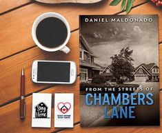 "Daniel Maldonado on Instagram: ""Purchase the paperback version of From the Streets of Chambers Lane. It is an intriguing story of unexpected loss.…"" Author, Street, Board, Instagram, Sign, Walkway"