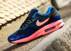 Nike Air Max 1 Lunar Black Bright Mango Deep Royal Photo Blue  (2)