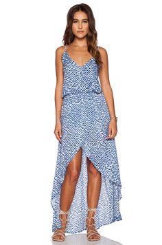 Tiare Hawaii Boardwalk Dress in Blue Cairo Print | REVOLVE