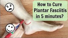How I got rid of long-term plantar fasciitis, or heel pain - YouTube