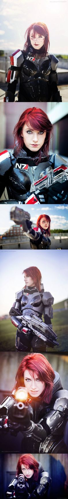 Femshep Cosplay - Mass Effect - COSPLAY IS BAEEE! Tap the pin now to grab yourself some BAE Cosplay leggings and shirts! From super hero fitness leggings, super hero fitness shirts, and so much more that wil make you say YASSS! Cosplay Anime, Epic Cosplay, Amazing Cosplay, Cosplay Girls, Cosplay Outfits, Mass Effect Cosplay, Cosplay Characters, Pokemon, Cool Costumes