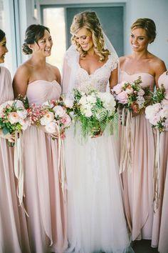 Jenny Yoo bridesmaid dresses Photography: Natasja Kremers