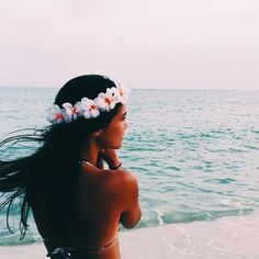 Summer goals Make a flower crown! Beach Bum, Summer Beach, Summer Vibes, Summer Sunset, Bikini Beach, Ocean Beach, Hot Bikini, Summer Goals, Summer Of Love