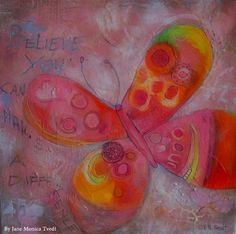 Jane Monica Tvedt - Empire of heart: We are all butterflies. Earth is our chrysalis