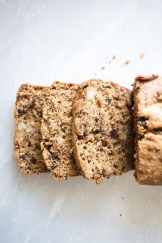 ... chocolate and brown sugar banana bread ...