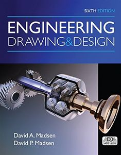 Read David A. Madsen's book Engineering Drawing and Design. Published on by Cengage Learning. Mechanical Engineering Design, Engineering Design Process, Mechanical Design, Electrical Engineering, Civil Engineering, Engineering Notes, Engineering Careers, Industrial Engineering, Autocad