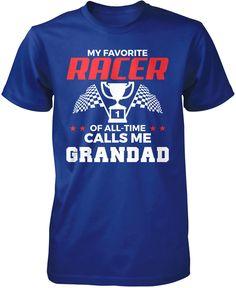 My Favorite Racer Calls Me Grandad