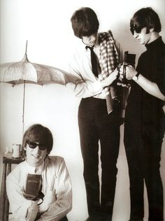 John Lennon, George Harrison, and Richard  Starkey
