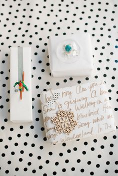 DIY: Three Easy Holiday Gift-Wrapping Ideas