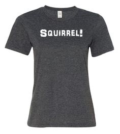 Squirrel T-Shirt for ADULTS UP Movie Cute Shirts by AnomalyGifts