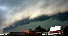 A derecho is a widespread, long-lived, straight-line wind storm that is associated with a land-based, fast-moving band of severe thunderstorms