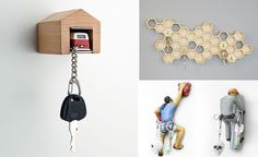 19 Clever And Functional Key Holders