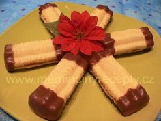 Františkovy banánky – Maminčiny recepty Christmas Cookies, Pudding, Cooking, Sweet, Desserts, Recipes, Food, Xmas Cookies, Kitchen