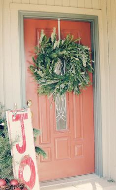 Day #6: Making An Evergreen Wreath - Emily Sue