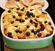 2013 Homemade Christmas Baked French Toast, Berry Baked French Toast For Christmas, Christmas Breakfast Recipe