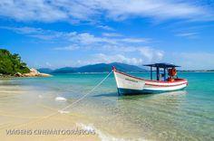Ilha do Campeche: Praias de Floripa - Viagens Cinematográficas