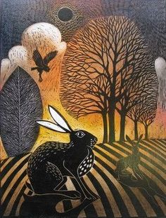 Midnight Hare ~ by Ian MacCulloch