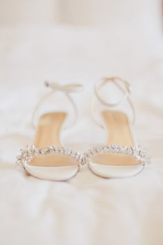 Shoes - Nine West | See the wedding on SMP: http://www.StyleMePretty.com/southwest-weddings/2014/03/12/elegant-purple-wedding-at-sky-creek-ranch/ Photography: Ivy Weddings