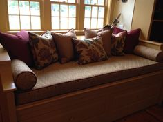 daybed and pillows, Kittery, Me