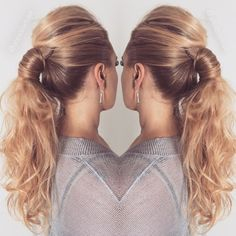messy+ponytail+with+a+bouffant
