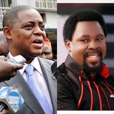Fani Kayode Visits Prophet TB Joshua…Read What He Later Said About the Man of God