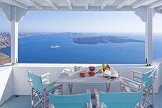 Villa Sky offers the ultimate private villa holidays in Santorini...💙