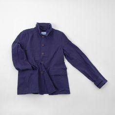 Indigo Bourgeron Jacket