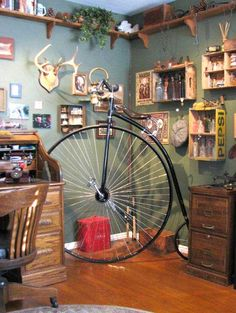 Rideable Bicycle Replicas, Beautiful Working Replicas of Antique Bicycles